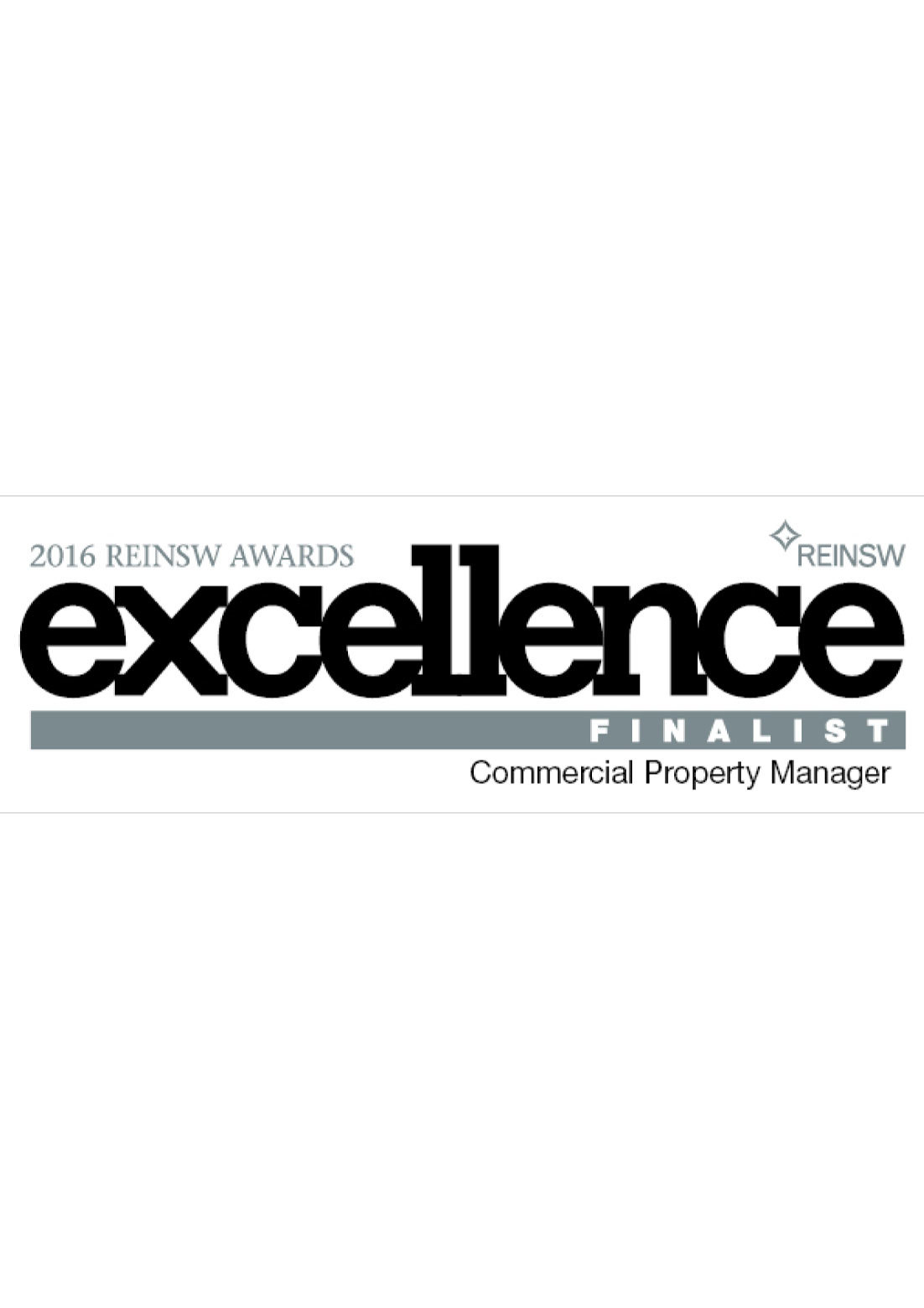 REINSW Commercial Property Manager Finalist